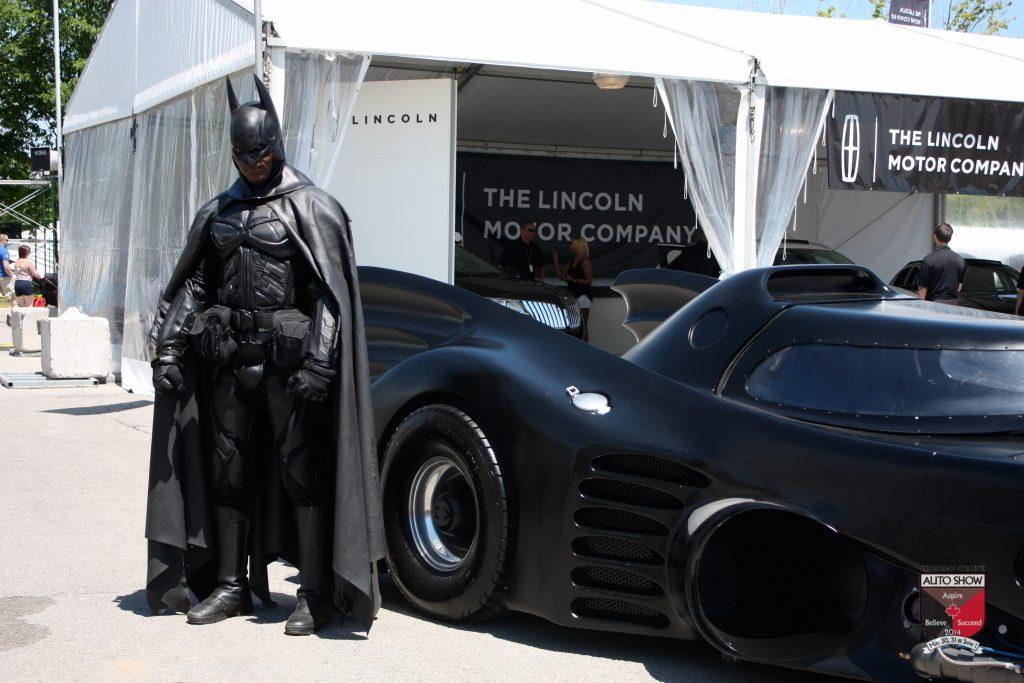 Georgian College Auto Show 2017 batman
