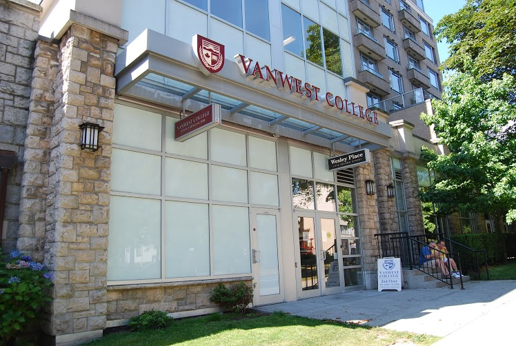 VanWest College Vacouver Campus