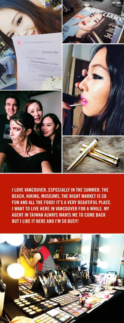 BMC Co-op Makeup Daisy Hsu